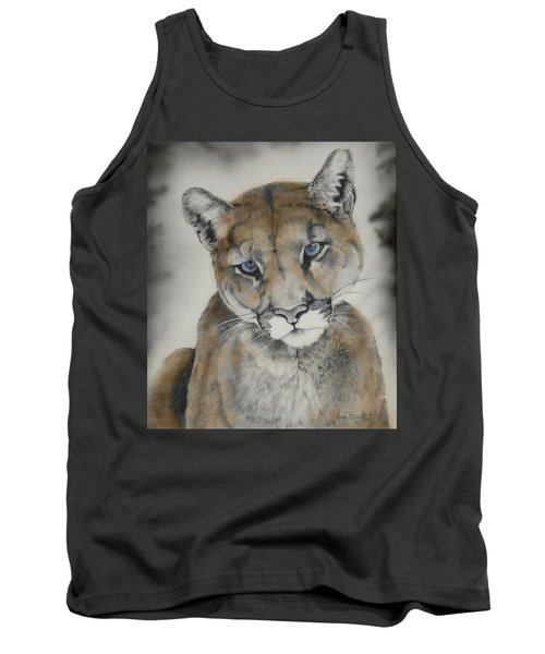 Blue Eyes Tank Top by Lori Brackett