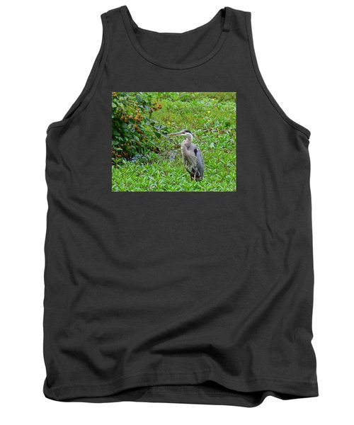 Blue Heron Tank Top