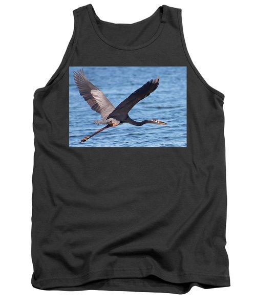 Blue Heron Wingspan Tank Top