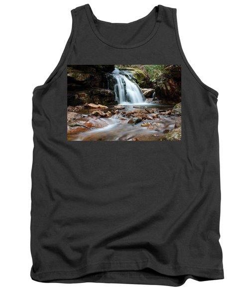 Tank Top featuring the photograph Blue Hole In Spring #3 by Jeff Severson
