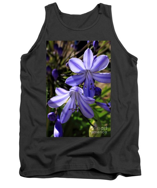 Blue Lily Tank Top