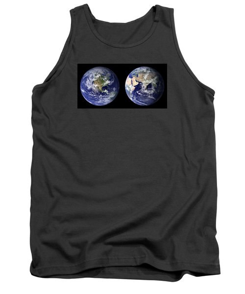 Blue Marble Tank Top