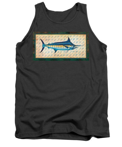 Blue Marlin Tank Top