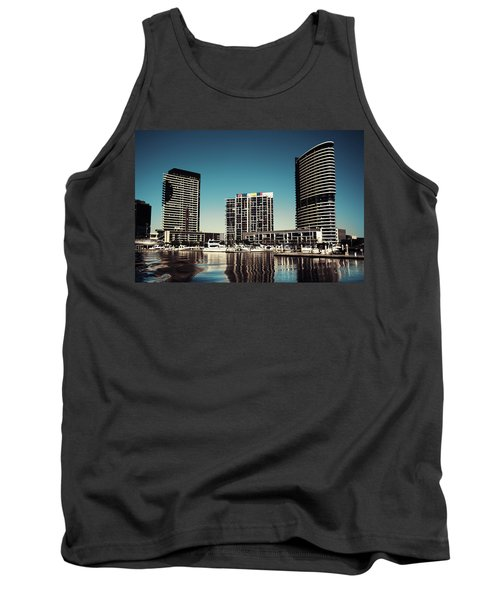 Blue Melbourne Tank Top