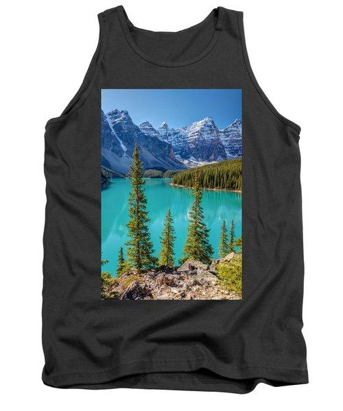 Blue Moraine Lake Tank Top