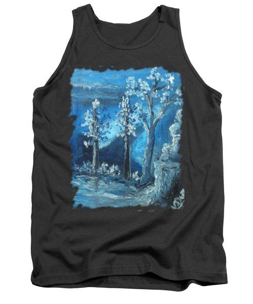 Blue Nature Tank Top