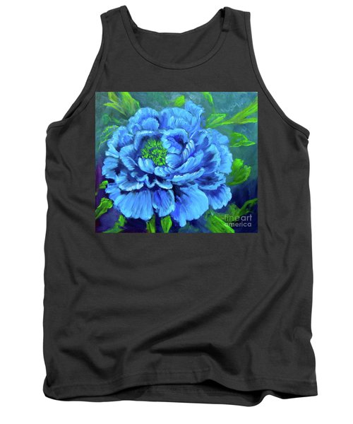 Blue Peony Jenny Lee Discount Tank Top