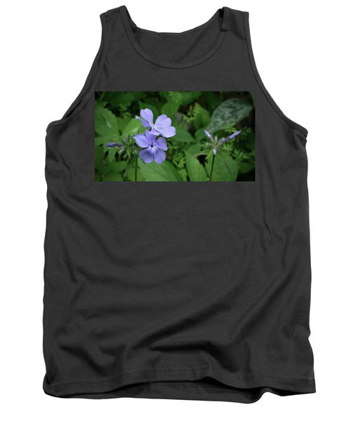 Blue Phlox Tank Top