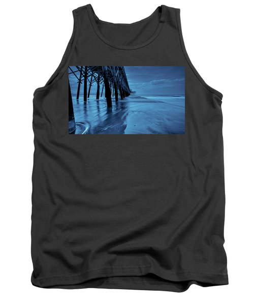 Tank Top featuring the photograph Blue Pier by RC Pics