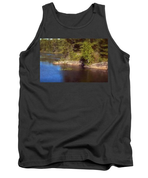 Blue Pond Marsh Tank Top
