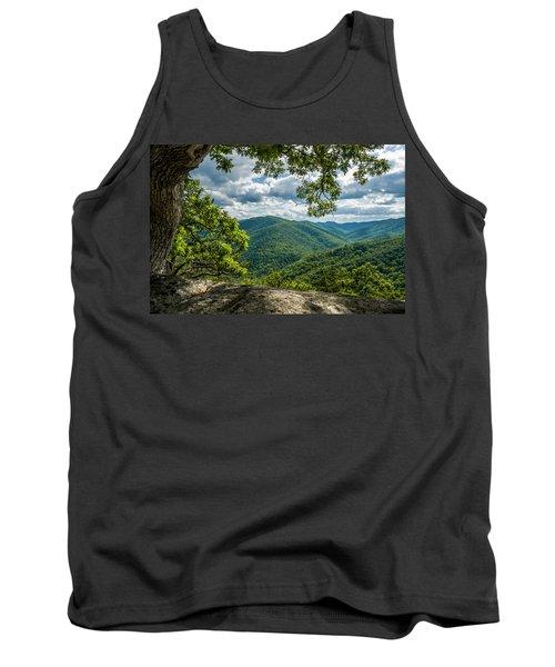 Blue Ridge Mountain View Tank Top