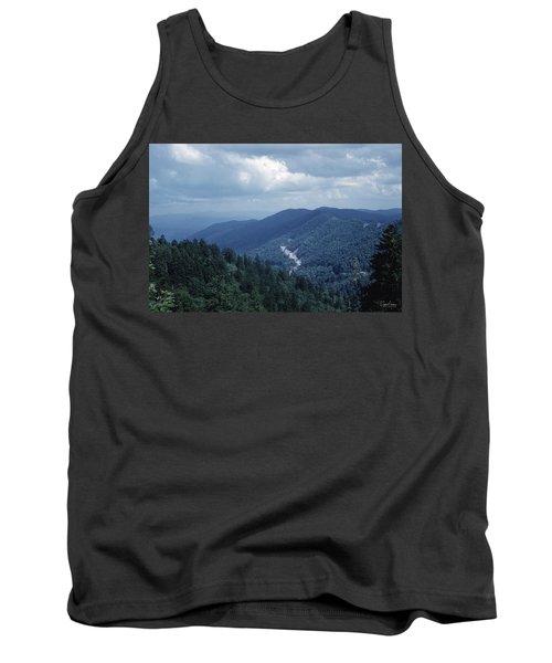 Blue Ridge Mountains 2 Tank Top