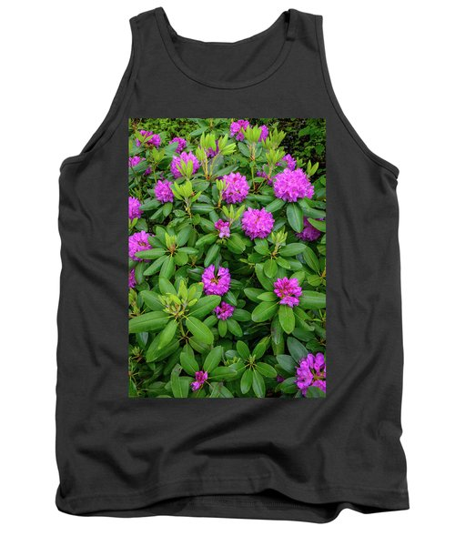 Blue Ridge Mountains Rhododendron Blooming Tank Top