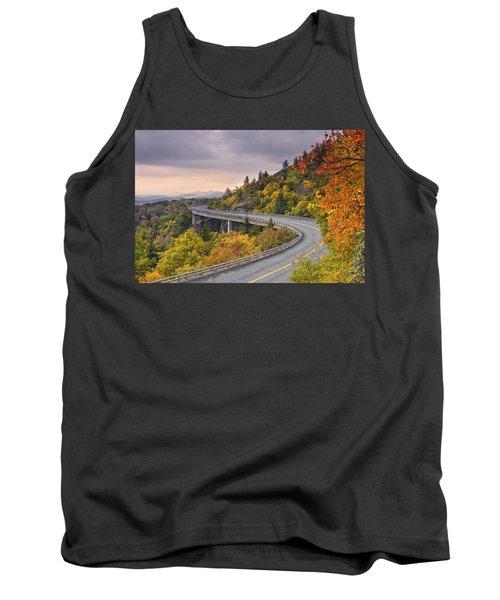 Lynn Cove Viaduct-blue Ridge Parkway  Tank Top