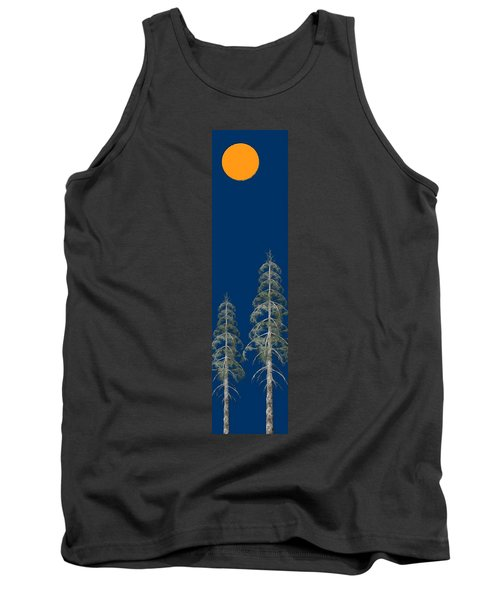 Tank Top featuring the painting Blue Sky by David Dehner