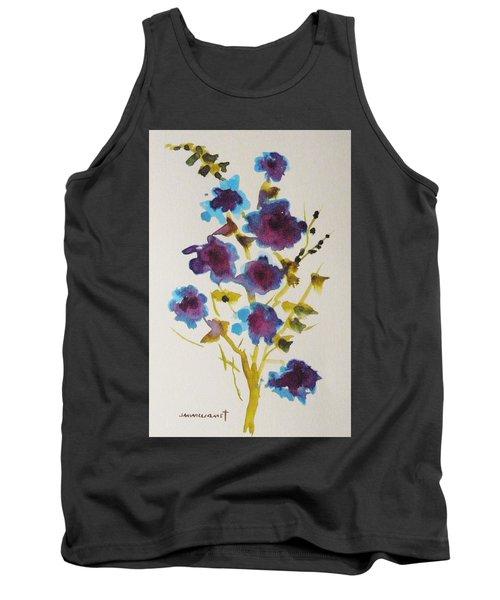 Blue Spring Tank Top