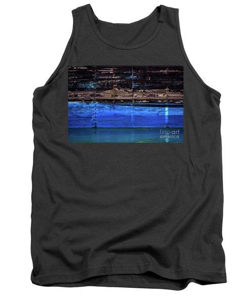 Blue Tanker Tank Top