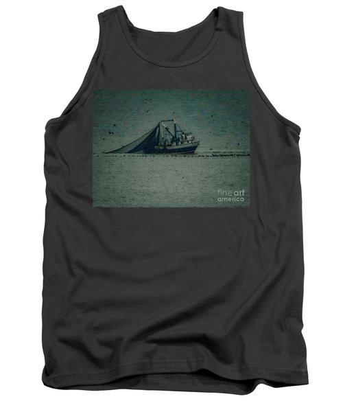 Blue Trawler 3 Tank Top