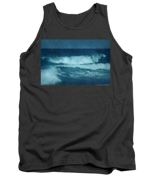 Blue Waves - Jersey Shore Tank Top