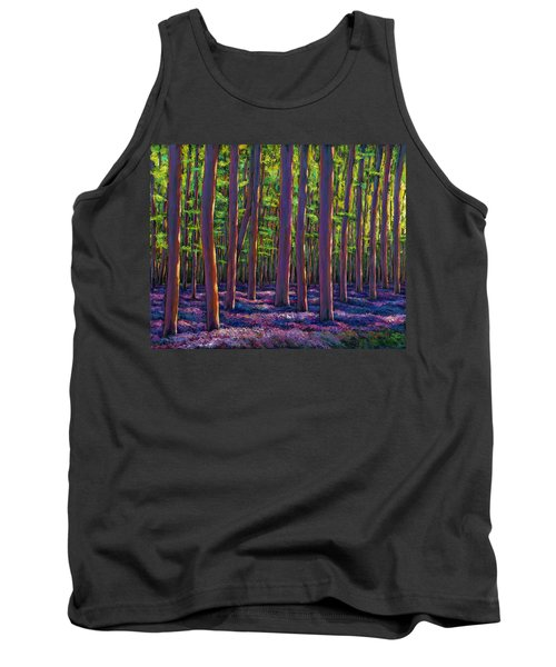 Bluebells And Forest Tank Top