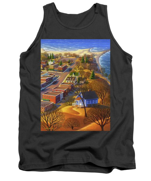 Blueberry Cottage Hill  Tank Top