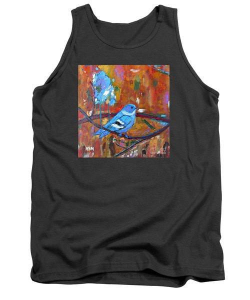 Bluebird In Autumn Tank Top