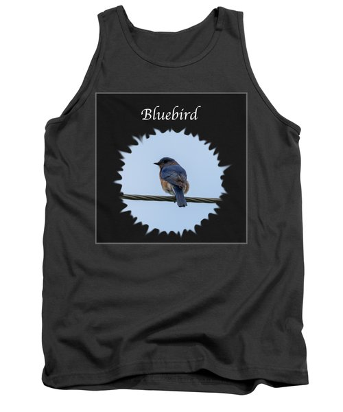 Bluebird Tank Top by Jan M Holden