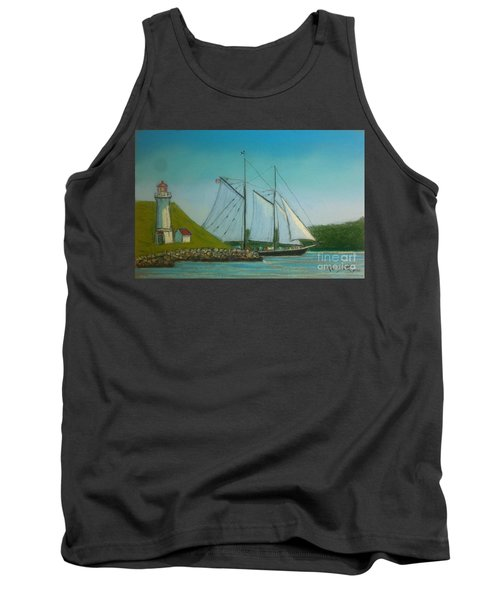 Bluenose Passing Georges Island Tank Top