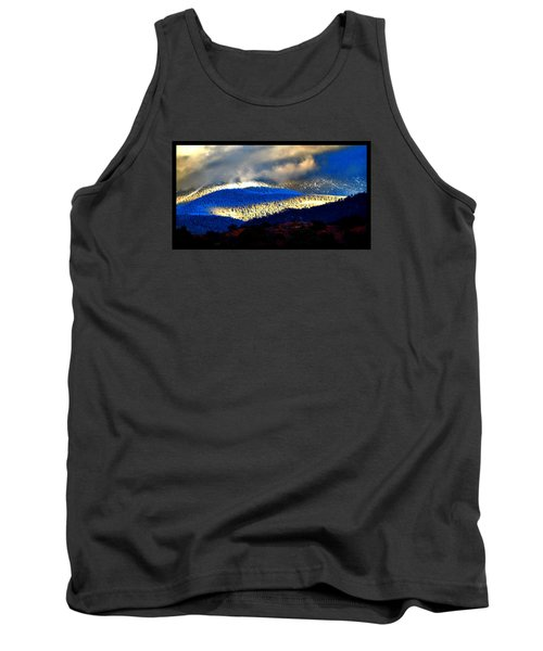 Blueray Winter New Mexico Tank Top by Susanne Still