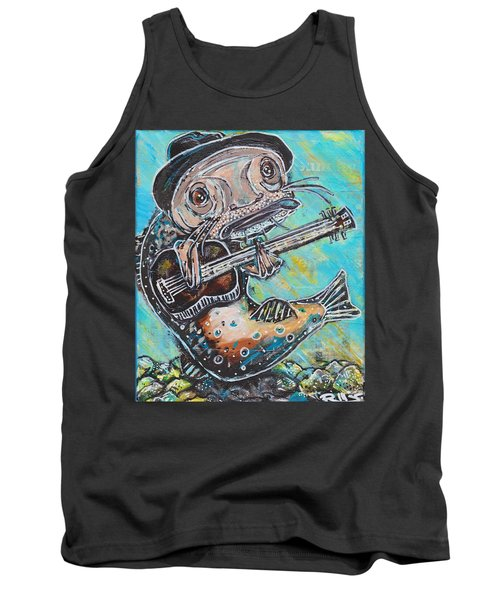 Blues Cat Revisited Tank Top