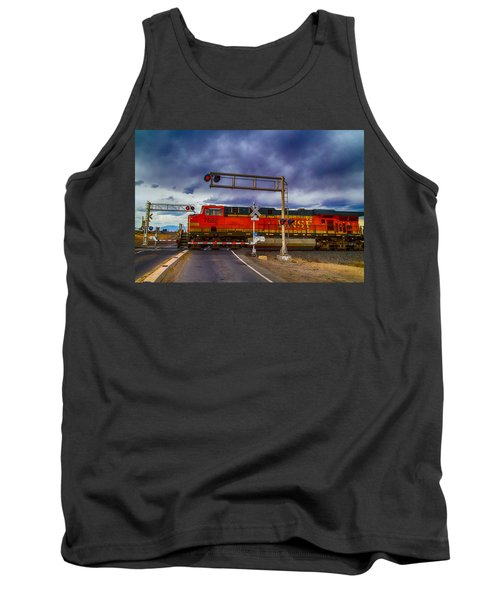 Bnsf 7682 Crossing Tank Top