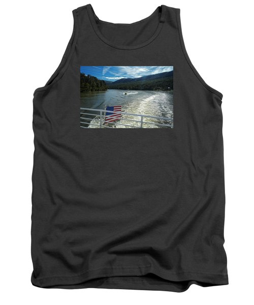 Boating On The River Tank Top