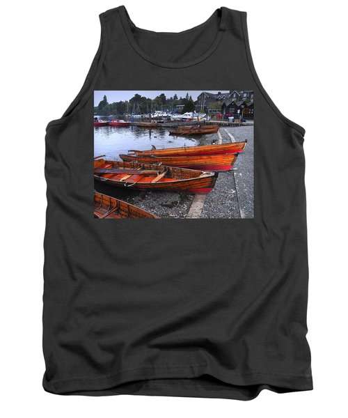 Boats At Windermere Tank Top