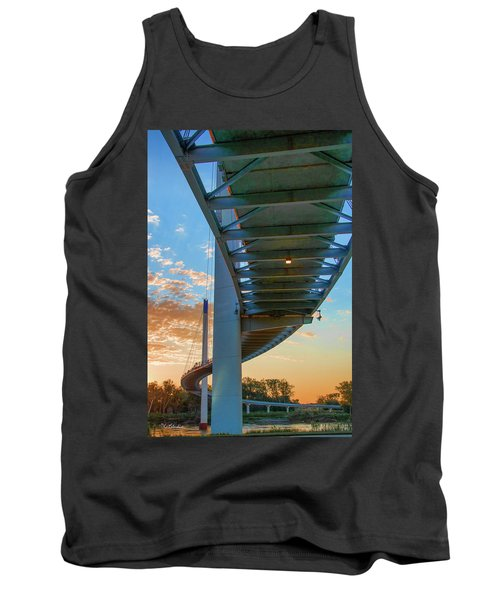 Bob Kerry Bridge At Sunrise-2 Tank Top