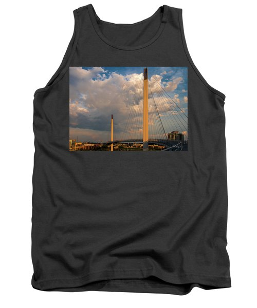 Bob Kerry Bridge At Sunrise-3 Tank Top