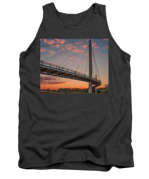 Bob Kerry Bridge At Sunrise-4 Tank Top