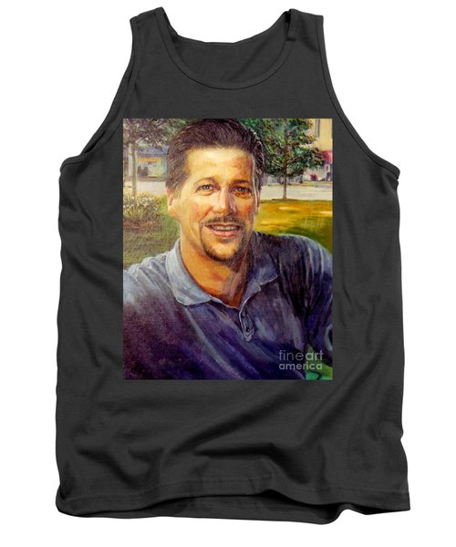Tank Top featuring the painting Bobby by Stan Esson
