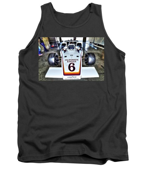 Bobby Unser's 1972 Indianapolis 500 Car. Tank Top