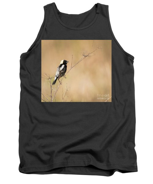 Tank Top featuring the photograph Bobolink  by Ricky L Jones