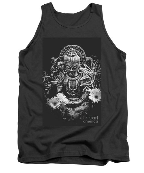 Tank Top featuring the photograph Bodhisattva Parametric by Sharon Mau