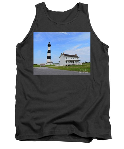 Bodie Island Lighthouse Tank Top by Shelia Kempf