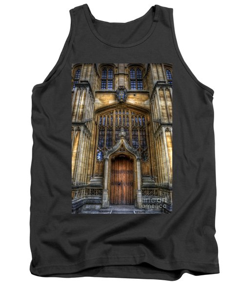 Bodleian Library Door - Oxford Tank Top by Yhun Suarez