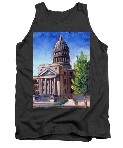Boise Capitol Building 01 Tank Top