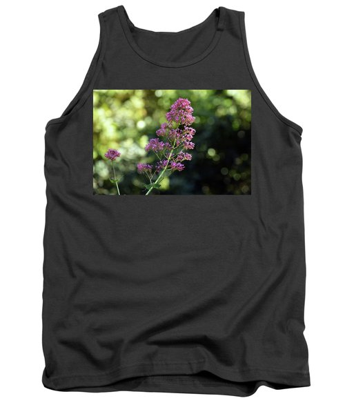 Bokeh Of Anacapri Flower Tank Top