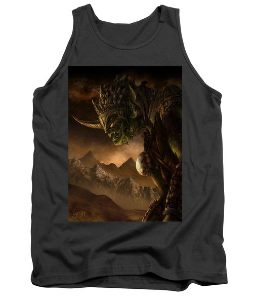 Bolg The Goblin King Tank Top by Curtiss Shaffer