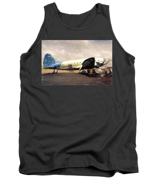 Bolivian Air Tank Top by Michael Cleere