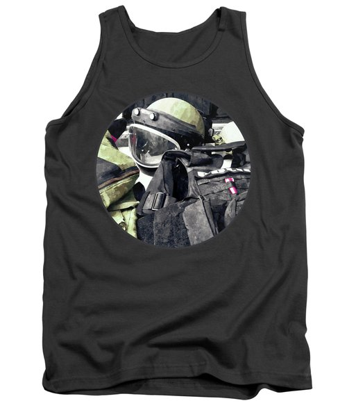 Bomb Squad Uniform Tank Top