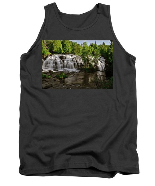 Tank Top featuring the photograph Bond Falls - Haight - Michigan 003 by George Bostian