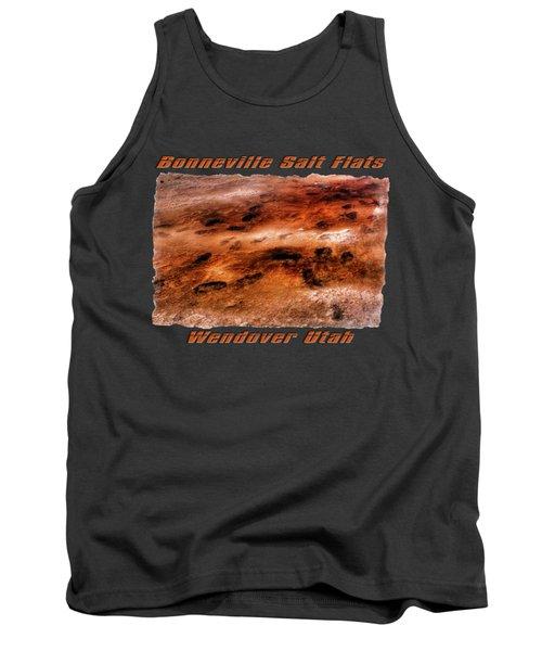 Bonneville Salt Flats Detail No. 2 Tank Top