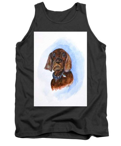 Bosely The Dog Tank Top